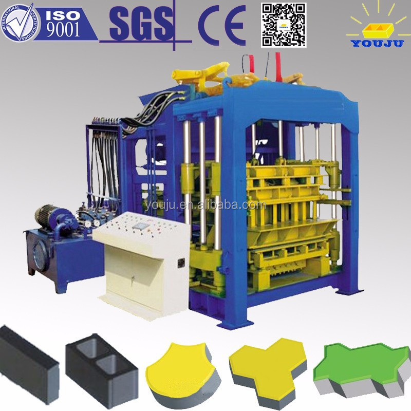 QT8-15 QT Automatic Concrete Brick Machine Fly Ash Brick Machine on Sale export brick machine more than 100 countries