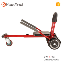 "Maxfind Cool Mini hoverKart go kart Hoverboard Accessories for 6.5"" 8"" 10""Two Wheel Self Balancing Scooter"
