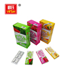 Customizable private labels blister pack refreshing strawberry flavor chewing gum