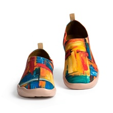 UIN Color Zone china wholesalers painted canvas shoes men