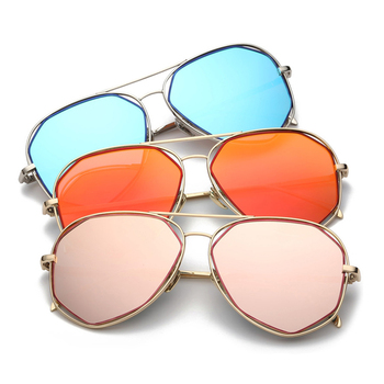 01ff75fb5b5 New Polygonal Metal Ladies Sunglasses Trendy Personality Fashion Sunglasses  Trend Glasses - Buy Sunglasses,Fashion Sunglasses Trend Glasses,Metal ...