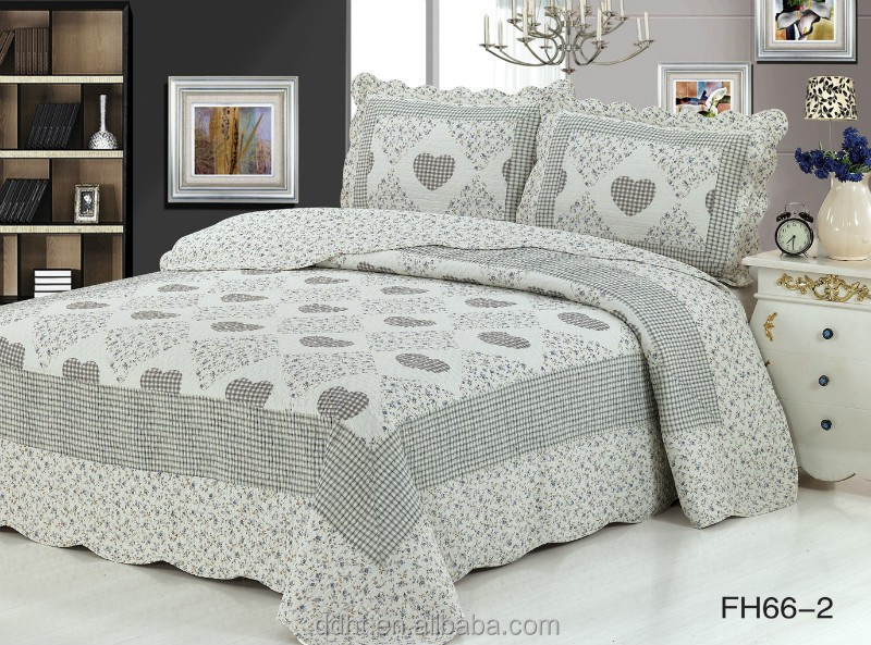 Azul zafiro coraz n colchas patchwork patchwork camas for Cama zafiro
