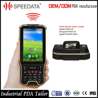 Wifi Android Security Scanner Equipment Mobile Smartphone PDA Terminal Handheld Barcode Scanner for Police System