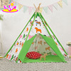 Classic Indian kids play teepee funny toy tent indoor kids play teepee W08L012