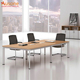 2018 Melamine Panel Aluminium Leg Conference Table
