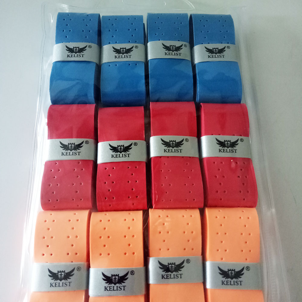 60 stks/partij Anti-slip Ademend Sport Over Zweetband overgrip tennis Tape