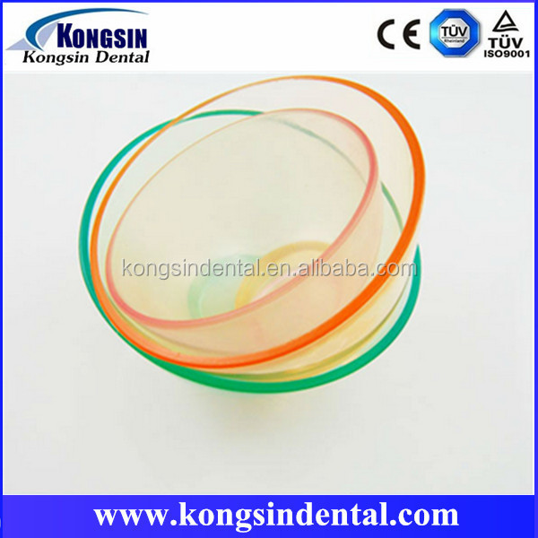 Dental Lab Equipment Rubber Mixing Bowl for Alginate Impression