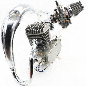 Petrol Bike Engine Kit 2 Stroke 49cc 50cc 60cc 66cc 70cc 80cc 100cc Engine  For 2-Cycle Gas Motorized Bicycle