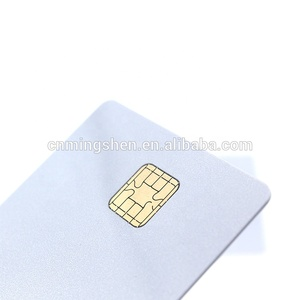 High Quality Pearl White JAVA JCOP Card with Black Magnetic Stripe J2A040