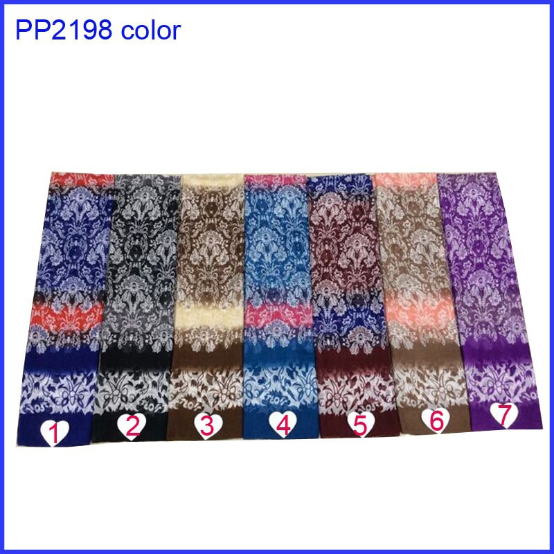 Fancy flower print scarf hijab for wholesale