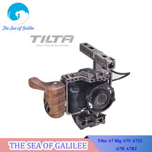 Tilta A7 Rig A7S A7S2 A7R A7R2 Rig Cage + Baseplate + Wooden Handle + Top Handle For SONY A7 series camera Film shooting