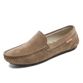 mens loafer casual leather driving moccasin shoes for men
