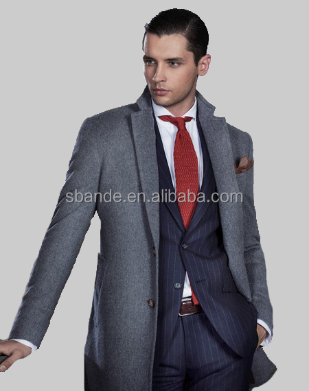 New style slim fit thick wool coat wool outerwear men's winter coats