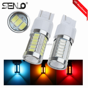 New item lighting 12V 24V super power 33 SMD 5630 3157 Led red third brake light for car auto motor truck