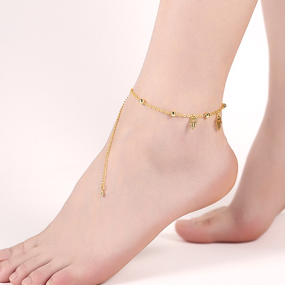 2017 jewellery designs of anklets pendant hotwife anklet