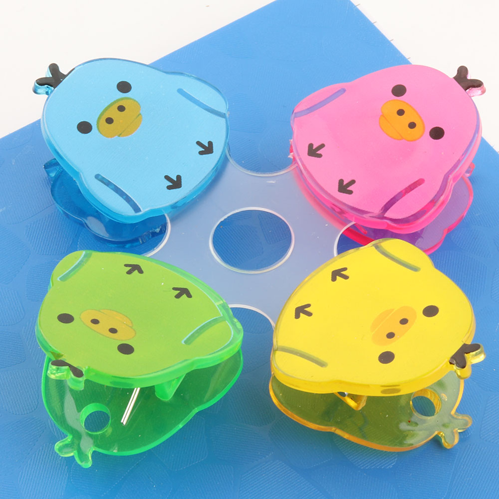 Hot 38mm plastic sewing clips colorful with hanging hole