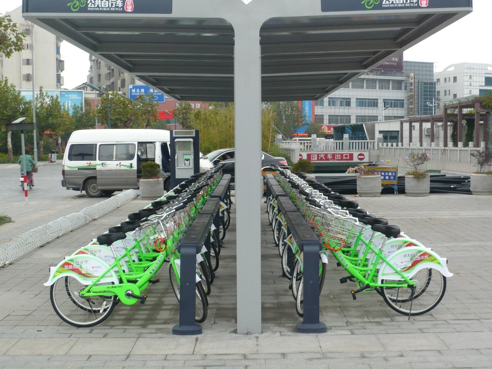 Environmental public bicycle rental system software developer