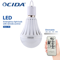 Alibaba China Intelligent Emergency Light Led Bulb With Remote Control
