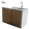 Solid Surface Kitchen Counter Cabinet for home kitchen