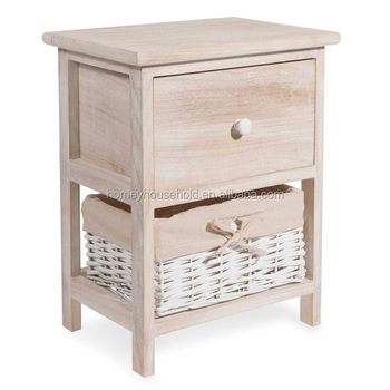 Awe Inspiring Large Factory Customized Unfinished Wooden Furniture Bedside Table With Basket Drawer Buy Bedside Table Product On Alibaba Com Machost Co Dining Chair Design Ideas Machostcouk