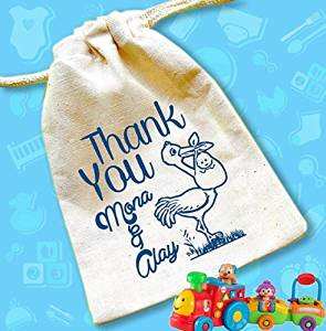 Stork baby shower- stork baby- baby shower favor bags-best selling items-baby shower favors-baby shower favors boy-baby shower favors girl
