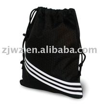black drawstring cotton bag