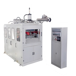automatische plastic beker making machine, plastic bekertje thermoforming machine, cup/kom machine