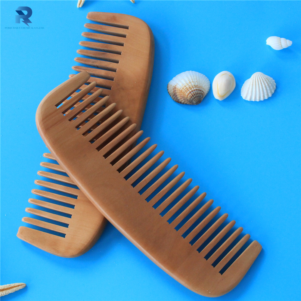 High quality wholesale small wooden hair comb