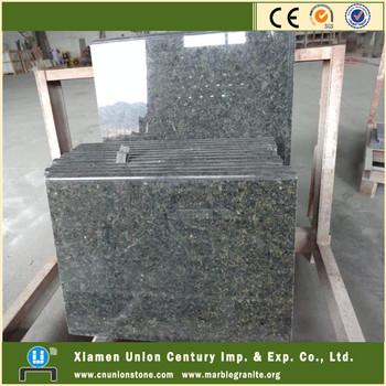 Natural pulido granito verde ubatuba precio buy product for Precio metro granito