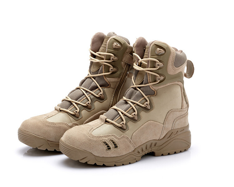 87dce8103411 Get Quotations · Summer Style Military Tactical Outdoor Sport Army Men Boots  Desert Botas Hiking Autumn Shoes Travel Leather