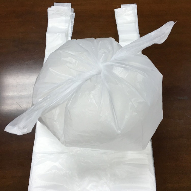 Cheap HDPE Clear Dog Pet Waste Bags pieces
