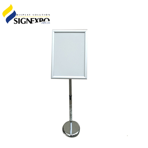 Aluminum Poster Board Stands Display Stand