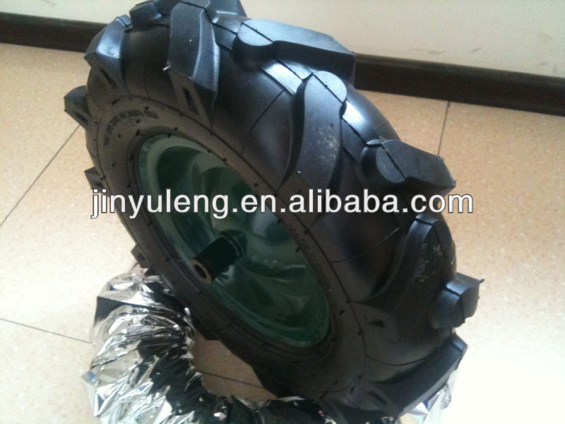 4.00-8 4.00-10 450-10 ,4PR 6PR 8PR use for mini-tiller ,Micro tillage machine tire ,wheel,