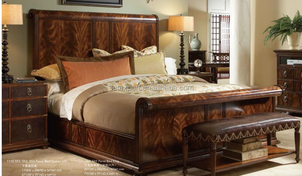 Chambre A Coucher Style Americain Le Design Moderne En Cuir Lit Douillet Grand Double Chambre