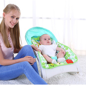 Cool Sit in Lazy Toddlers Bouncer Chair Swing Musical Baby Rocker for Sale