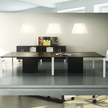 Modular Foshan Modern Meeting Table Simple Conference Table Multi - Modular meeting table