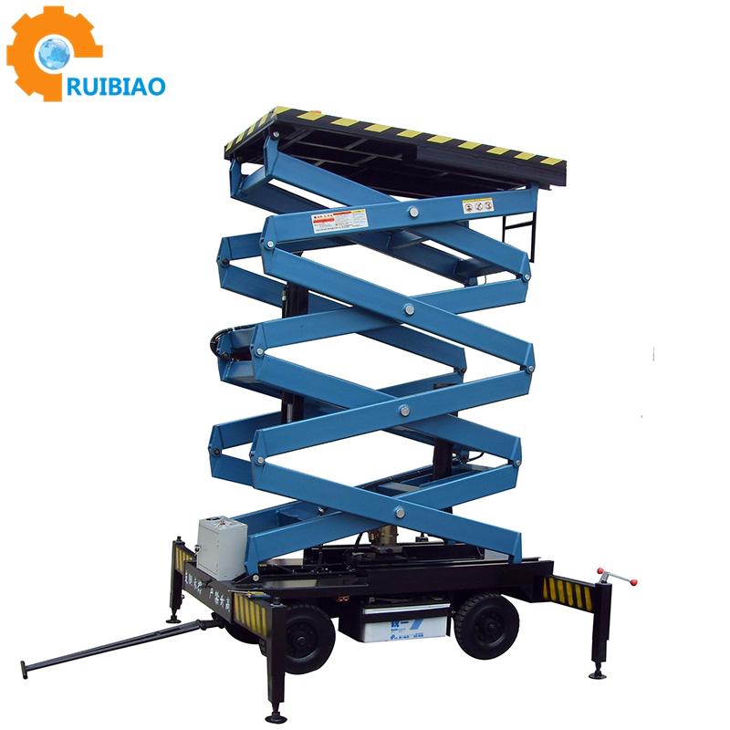 12 meter Telescopic elevated used aerial work platform