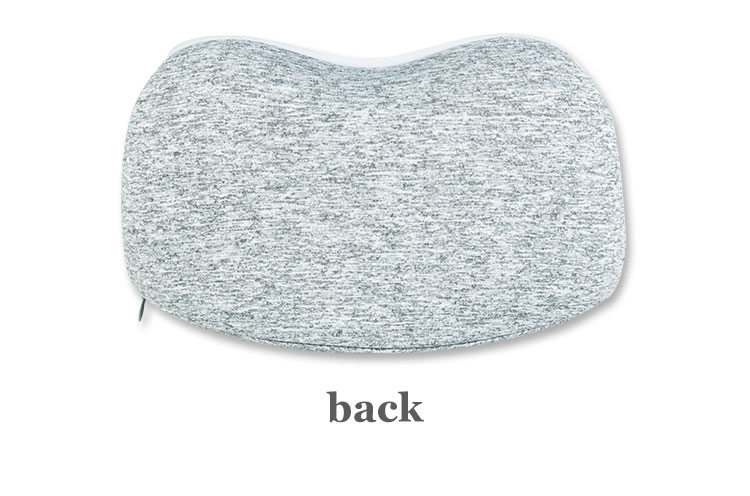 Adjustable Airplane Travel Kit Memory Foam Travel Neck Pillow U Shape Neck Support Pillow Travel Set with Eye Sleep Mask