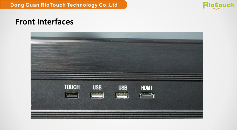 New Riotouch 75 inch interactive flat panel for sale