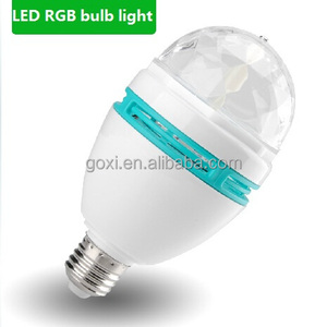 Hot selling easy to install rgb led bulb lighting 3w lamp