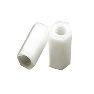 Plastic Internal Threaded Hex Stud Used In Mobile Equipment