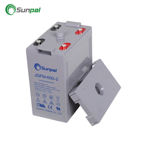 High Capacity Agm 2V 600Ah Lead Acid Battery Agm 2V 600Ah Battery Weight For Sale