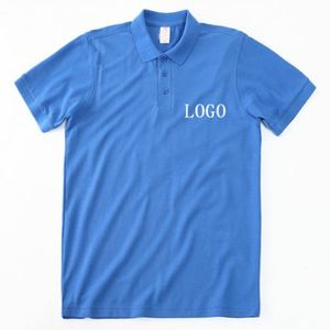Unique Design USA Offerset Print 240Gsm Polo Collar Tshirt Design
