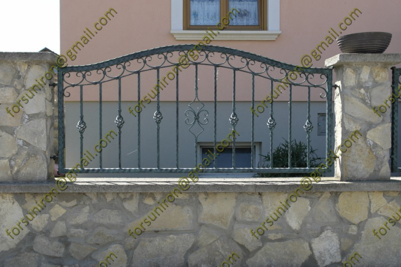 wrought iron decorative fence panel,cheap wrought iron fence panels for sale