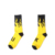 hot new product sexy cool yellow black dress soft cotton woman sock