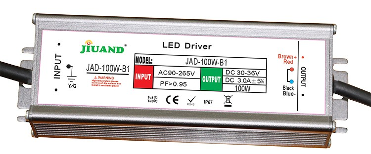 constant current 20W 30W 50W 100W LED power supply