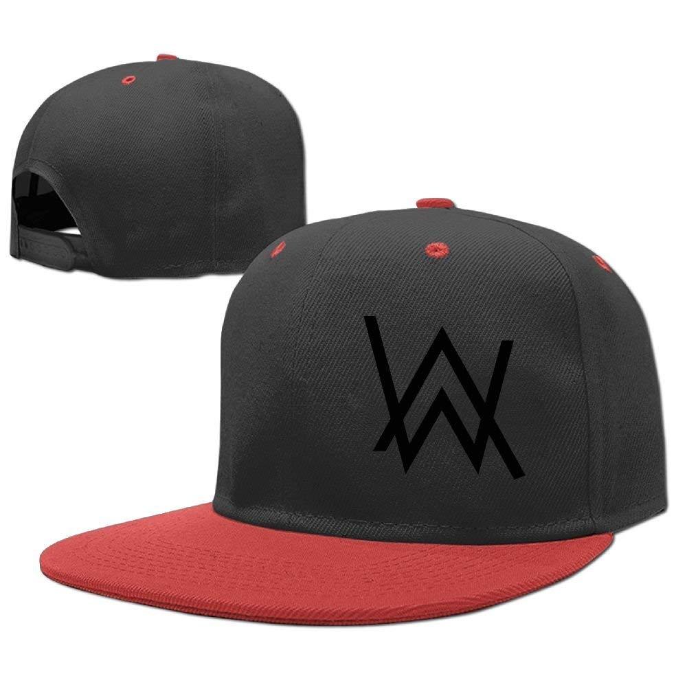 92320020 Get Quotations · Erin Forman Teens Kids Popular Celebrity Alan Walker Logo Baseball  Cap Hip-hop Cap Red