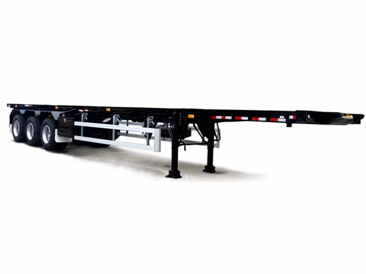 China Best Price container 40ft flatbed container trailer for sale