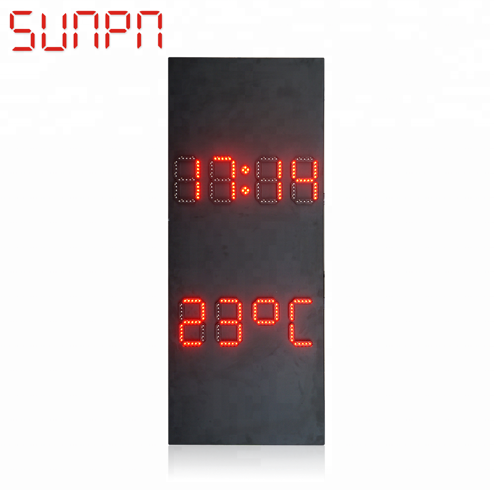 LED Grote Temperatuur Vochtigheid Display/Sign Board