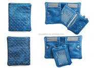 Top grade most popular money clip credit card holder leather wallets clutch purse men wallet